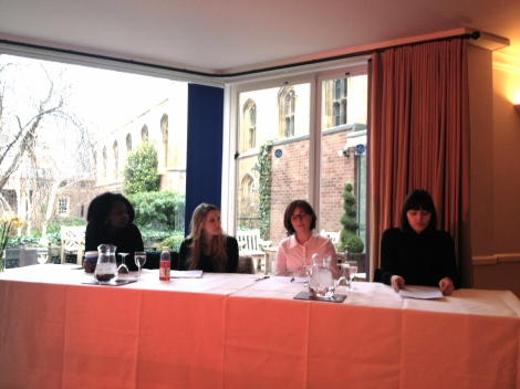 Women's Day 2013 panelists